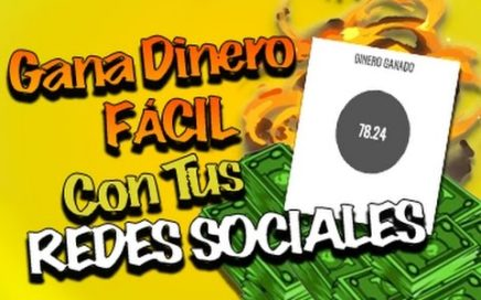 Ganar Dinero Fácil Con Tus Redes Sociales | DineroParaJovenes | SocialPubli
