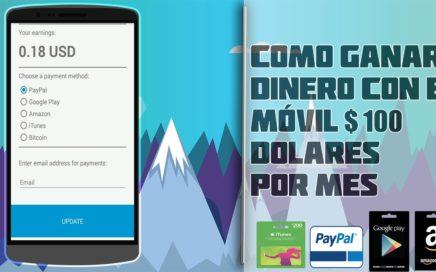 Ganar dinero fácil en Android y Blackberry en policash / 100% seguro y recomendado