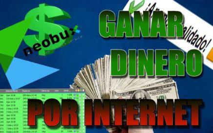 GANAR DINERO FÁCIL EN INTERNET | Neobux | D´VChannel