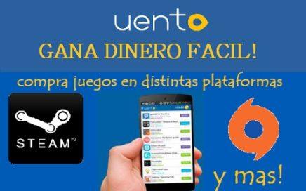 GANAR DINERO FACIL EN UNA APP! - UENTO (+COMPROBANTES)
