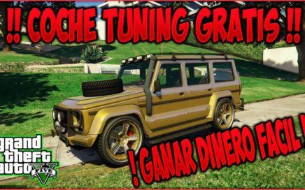! GANAR DINERO FACIL GTA V Online ! Localizacion DUBSTA 4X4 TUNING color ORO !! GTA 5 Online PS4