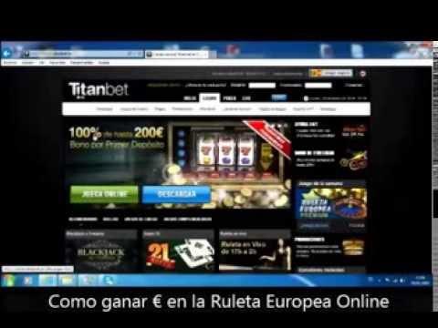 Ganar Dinero Fácil real Ruleta Europea Casinos TV Online 2014 - Multisistema combinado