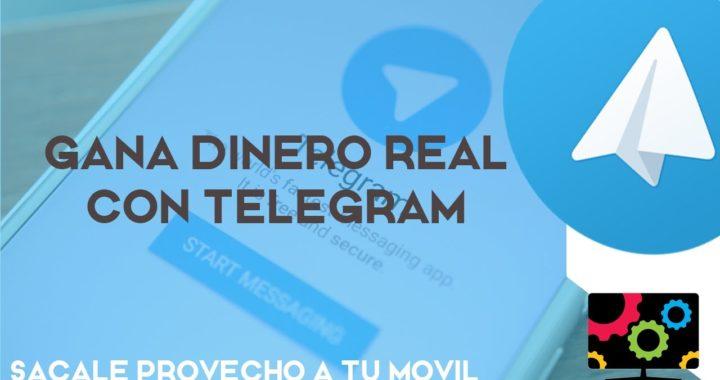 Ganar DINERO Facil y Rapido con TELEGRAM | Sacale Provecho a tu Dispositivo Android iOs Windows