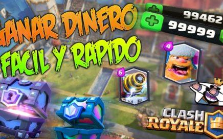 GANAR DINERO FÁCIL Y RÁPIDO PARA CLASH ROYALE, PAYPAL,... JabyXtreme