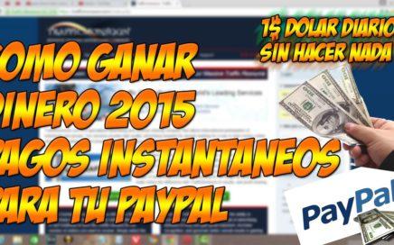 Ganar Dinero Fácil y Rápido Para PayPal 2015 | Con Trafficmonsoon Pagos Diarios e instantaneos