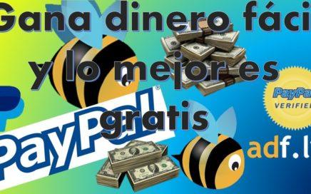 Ganar dinero para paypal gratis/ Dinero facil