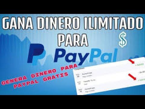 Ganar dinero para paypal gratis  genera 20$ ilimitadamente  Dinero facil