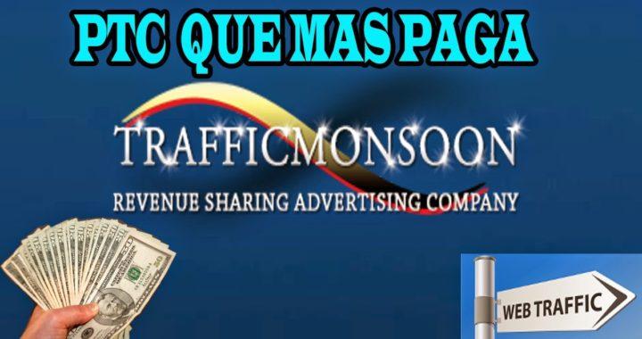 Ganar dinero para tu paypal   60 dolares diarios   Traffic Monsoon
