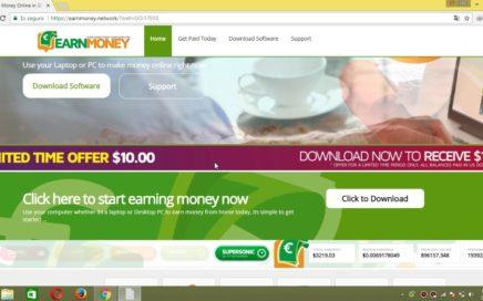 ganar dinero por Internet dejando el pc encendido 2017