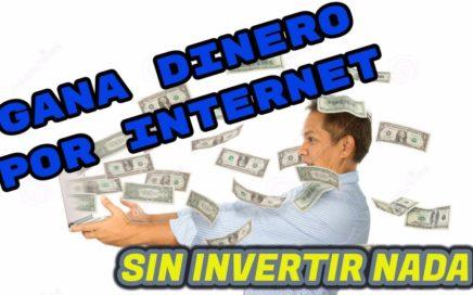 GANAR DINERO POR INTERNET GRATIS 2017/ COMPROBANTE DE PAGO/DINERO EXTRA