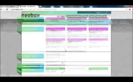 ganar dinero por internet rapido con neobux (ptc)  estrategia $50 diarios (paypal)