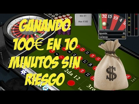 Ganar dinero rapido a la ruleta (+100€ en 10 minutos)