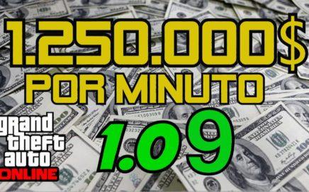 GANAR DINERO RAPIDO GTA V ONLINE 1.09 (Más de 1 millón por minuto) | YORCH20