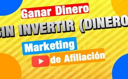 Ganar dinero sin invertir (dinero) marketing de afiliación