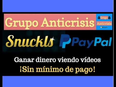 Ganar dinero viendo vídeos (Paypal)