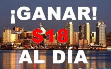 GANAR HASTA $18 DOLARES AL DÍA | FACIL Y RAPIDO | Por PayPal 2017.