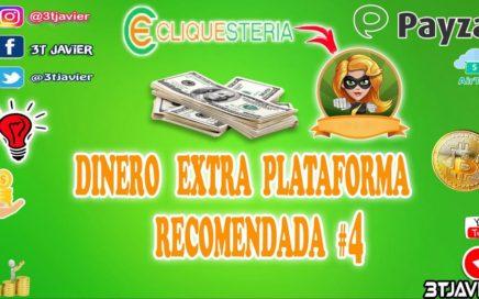 GENERA DINERO EXTRA en  Cliquesteria  PTC Recomendada No4