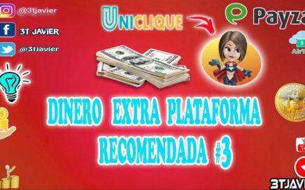 GENERA DINERO EXTRA en  Uniclique 100%  PTC Recomendada No3 |Confiable !