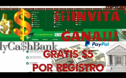 GreenPanthera Tutorial Completo | Gana dinero para PayPal con encuestas | MyCaShBank |