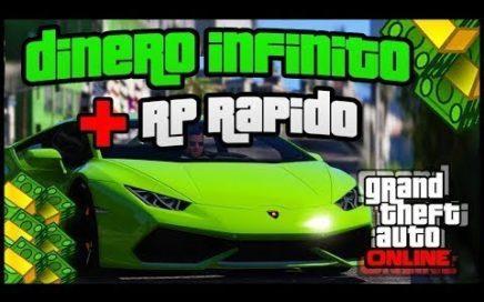 GTA 5 Online- NUEVO 'METODO DINERO Y RP INFINITO' 1.41-1.29 - GANA DINERO RAPIDO  FACIL En GTA 5!