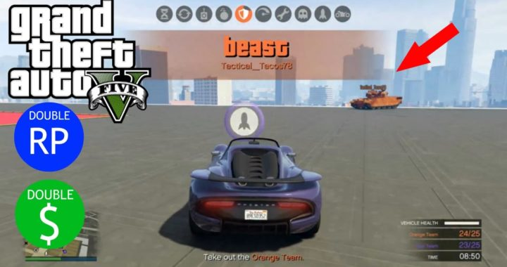 GTA online | Vehicle Vendetta III / como ganar dinero y suvir de nivel