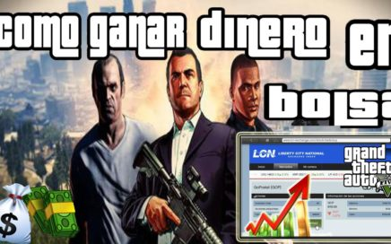 GTA V GANAR DINERO FACIL MILLONES DE DOLARES EN LA BOLSA 100% GANANCIAS # PARTE 2 SOLUCION