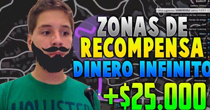 GTA V ONLINE 1.26/1.28 - ZONAS DE RECOMPENSA! GANAR DINERO BESTIAL ! POBRE A MLLONARIO