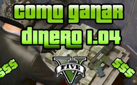 GTA V Online - Como ganar dinero 1.04 Con coches y motos! 90.000 cada 2 minutos!