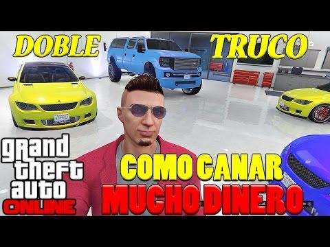 GTA V ONLINE | Como Ganar Mucho Dinero Facil Y Sin Ayuda | Doble Truco GTA 5 ONLINE