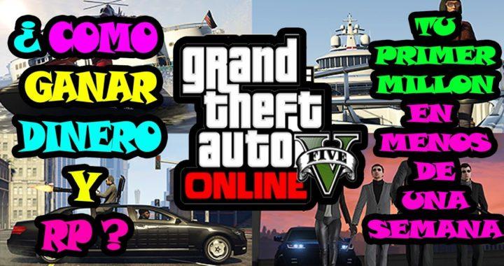 GTA V ONLINE - COMO GANAR MUCHO DINERO LEGAL- GTA 5 ONLINE COMO GANAR MUCHO DINERO EN GTA 5 ONLINE