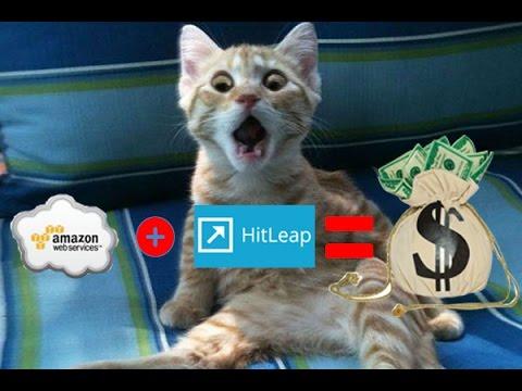 Hitleap y Amazon gana   dinero y trafico en automatico  2017
