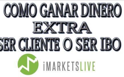 IMARKETSLIVE|COMO GANAR DINERO EXTRA|SER CLIENTE O SER IBO|COMO COMO CONSEGUIR EQUIPO!!!