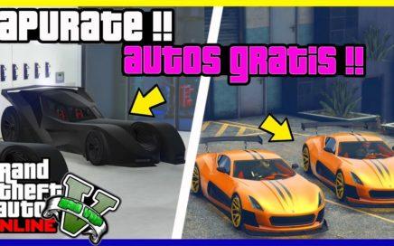 """INCREIBLE!! APURATE Y CONSIGUE CUALQUIER AUTO GRATIS EN """"GTA V ONLINE"""" MONEY GLITCH 1.41"""