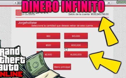 *INCREIBLE* COMO DUPLICAR TU DINERO EN GTA 5 ONLINE [$3,000,000 CADA 40 MINUTOS]  1.41