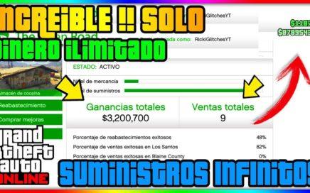 INCREIBLE!! EL MEJOR TRUCO DE DINERO INFINITO SOLO SIN AYUDA! GTA V ONLINE 1.41 [PS4 / XBOX ONE]