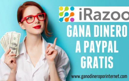 iRazoo - Gana Dinero A Paypal Gratis