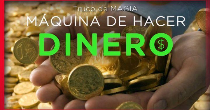 La Maquina de hacer dinero - Truco de magia con monedas IMPRESIONANTE