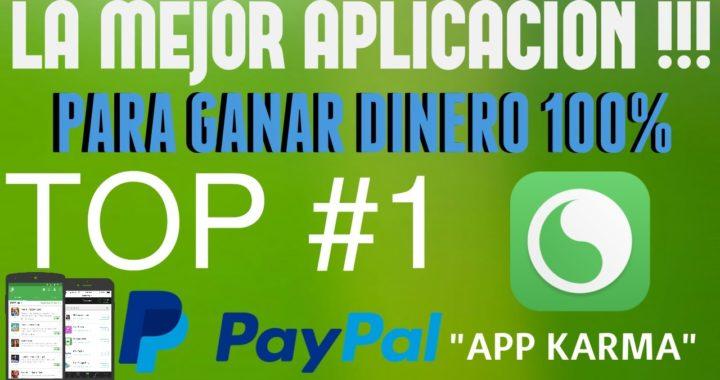 La Mejor APP Para Ganar Dinero / 10 DOLARES POR DÍA / PAYPAL |  2017