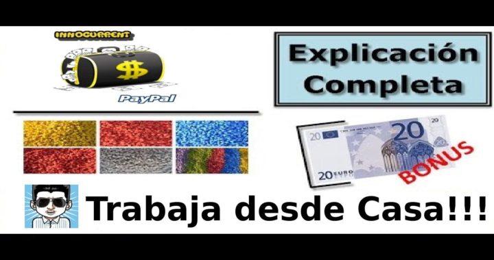 La Mejor pagina para Ganar Dinero Gratis en Internet | Innocurrent Dinero Extra en Derrota la Crisis