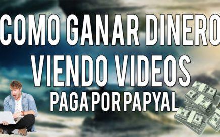 $La Mejor Pagina Para Ganar Dinero Viendo Videos ( Paypal) 2017$
