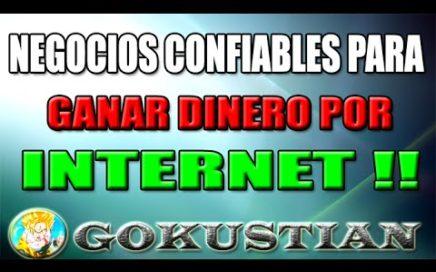 Las Páginas más Confiables para Ganar Dinero por Internet   Trabaja desde casa de Manera Segura