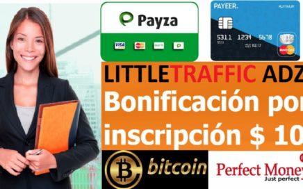 LITTLETRAFFIC ADZ  - PRE LANZAMIENTO / BONO DE $10.00 GRATIS POR REGISTRO 25/11/2017