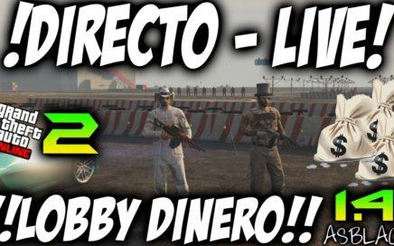 $ LOBBY CON SUSCRIPTORES Y SEGUIDORES Parte 2 $ - GTAV Online 1.41 - DINERO INFINITO 10.000$ (PS4)