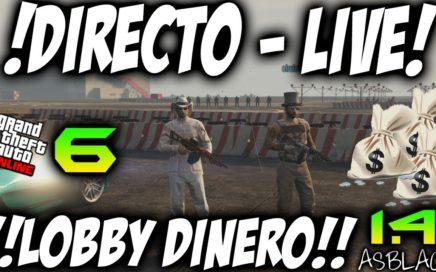 $ LOBBY CON SUSCRIPTORES Y SEGUIDORES Parte 6 $ - GTAV Online 1.41 - DINERO INFINITO 10.000$ (PS4)