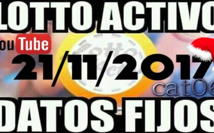 LOTTO ACTIVO DATOS FIJOS PARA GANAR  21/11/2017 cat06