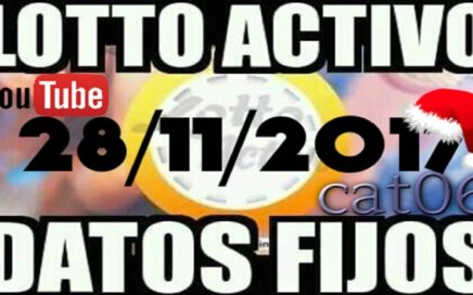 LOTTO ACTIVO DATOS FIJOS PARA GANAR  28/11/2017 cat06