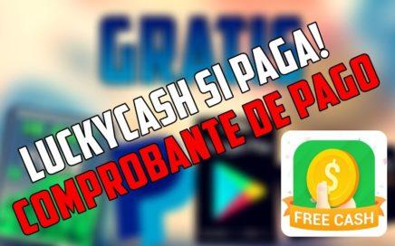 LUCKY CASH SI PAGA!! COMPROBANTE DE PAGO   GANAR DINERO FÁCIL - CONSEGUIR GEMAS CLASH ROYALE