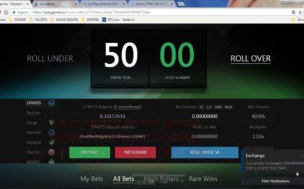 LUCKY GAMES!! RETIRO 70 DOLARES!!! REGALO 30 A 20 PERSONAS -INGRESOS EXTRA_