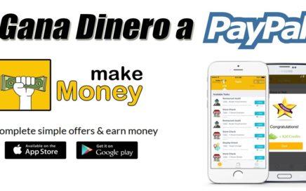 Make Money App para Ganar Dinero Gratis a Paypal | Gokustian