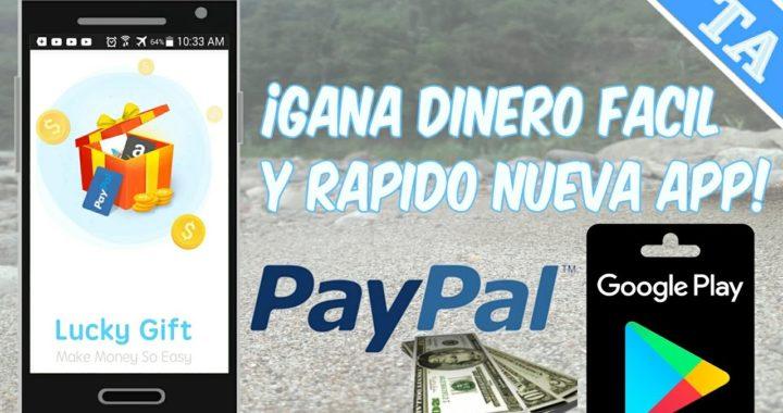 MEJOR APP GANA DINERO EN ANDROID FACIL Y RAPIDO/PAYPAL,TARJETAS DE GOOGLE PLAY,AMAZON/OCTUBRE -2017